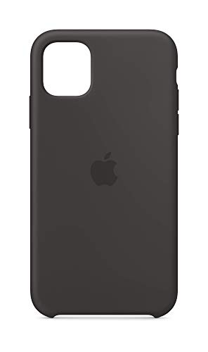 Apple Silikon Case (für iPhone 11) - Schwarz
