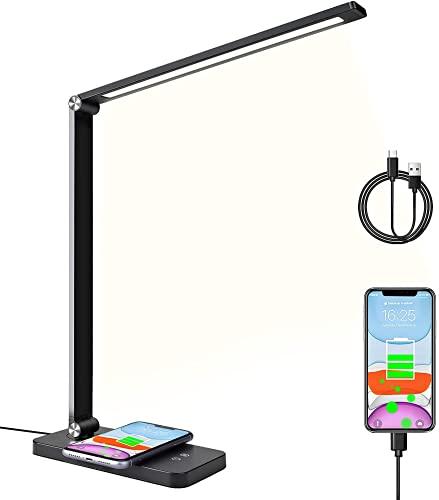 Schreibtischlampe Led mit Induktiv Wireless...