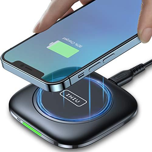 INIU Wireless Charger, Qi-Zertifiziert 15W...