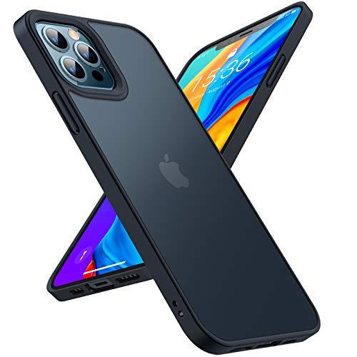 TORRAS Stoßfest Hülle für iPhone 12 Pro...
