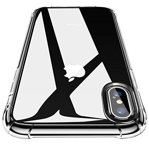 CANSHN Clear für iPhone XS Hülle/iPhone X...