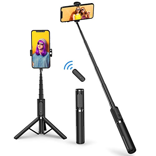 ATUMTEK Bluetooth Selfie Stick Stativ, Mini...