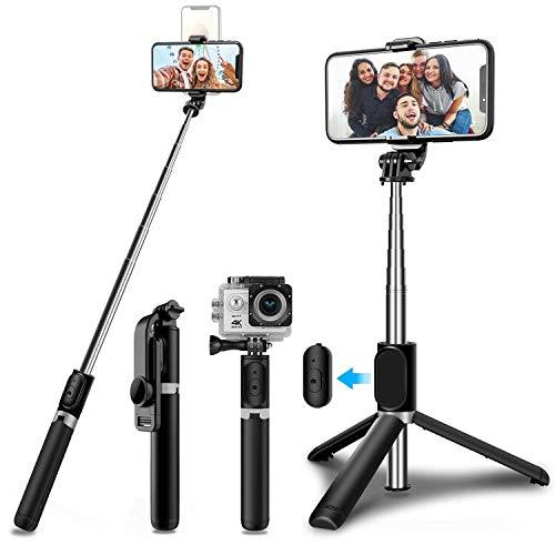 SYOSIN Selfie Stick Stativ, Erweiterbar 103...
