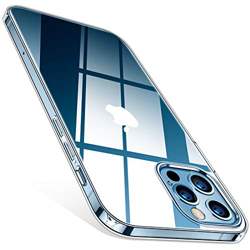 TORRAS Crystal Clear für iPhone 12...