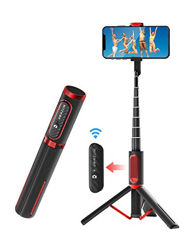Bluetooth Selfie Stick Stativ, BlitzWolf...