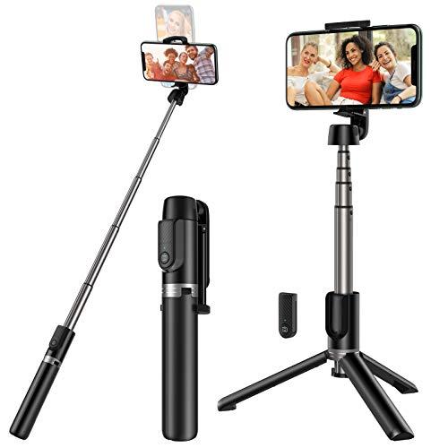 Yoozon Selfie Stick Stativ mit Fernbedienung,...
