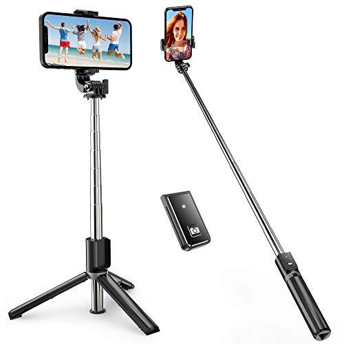 ATUMTEK Selfie Stick Dreifuß, Ausdehnbarer...
