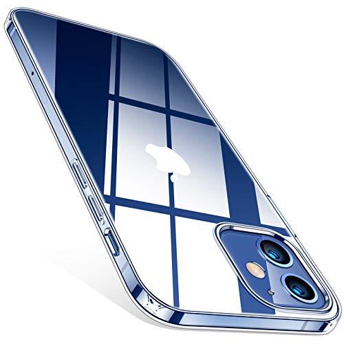TORRAS Crystal Clear für iPhone 12 Mini...